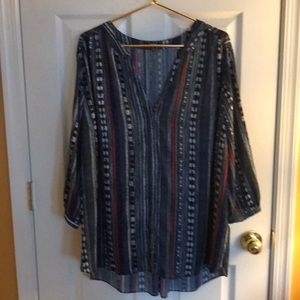 NYDJ Blouse or Lightweight Coverup
